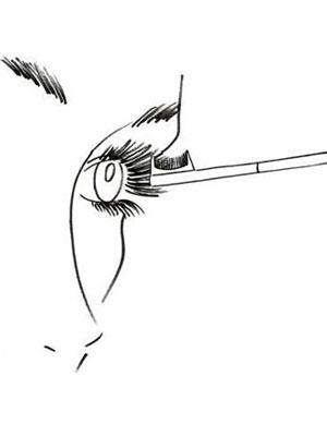 آموزش تصویری آرایش مژه ها