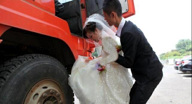 جالب ترین عروسی چینی + تصویر