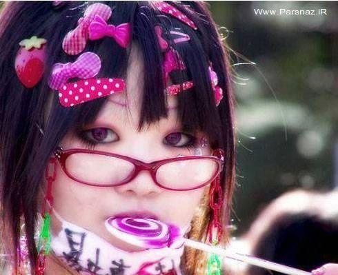 عکس های بسیار عجیب از ارایش دختران