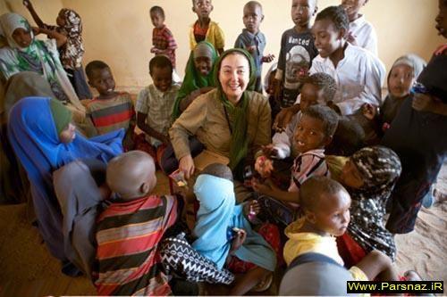 کتایون ریاحی در سومالی + گزارش تصویری