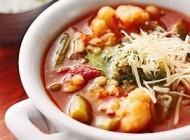 دستور تهیه سوپ ایتالیایی کاملا گیاهی!!