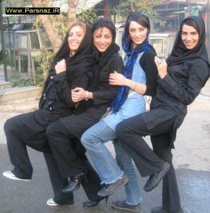 عکسی جنجالی تعدادی از بازیگران زن در بهشت زهرا