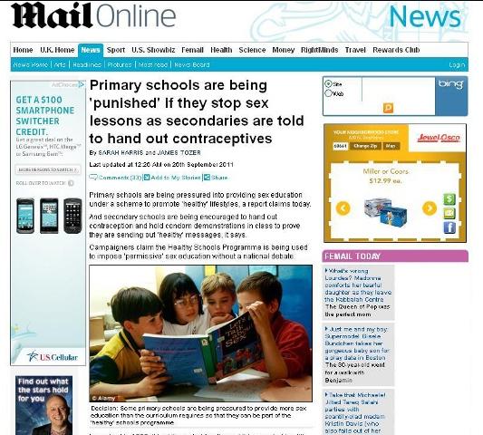 توزیع لوزام ضد بارداری در مدارس دخترانه + عکس