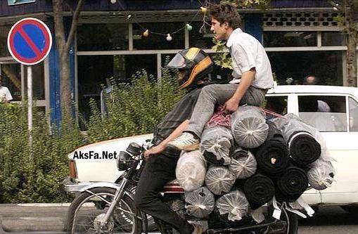 تصاویری جالب از سوژه های خنده دار ایرانی