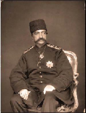 عکسی از مانکن هادر زمان ناصرالدین شاه
