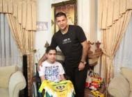 کودکی که اشک علی دایی را در آورد+تصویر