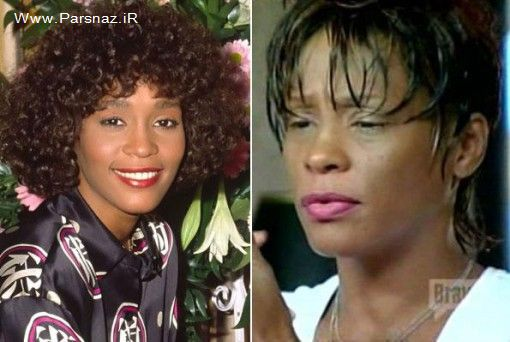 افراد معروف جهان قبل و بعد از مصرف مواد مخدر + عکس