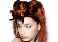 نمایشگاه مدل موهای عجیب زنانه در مسكو