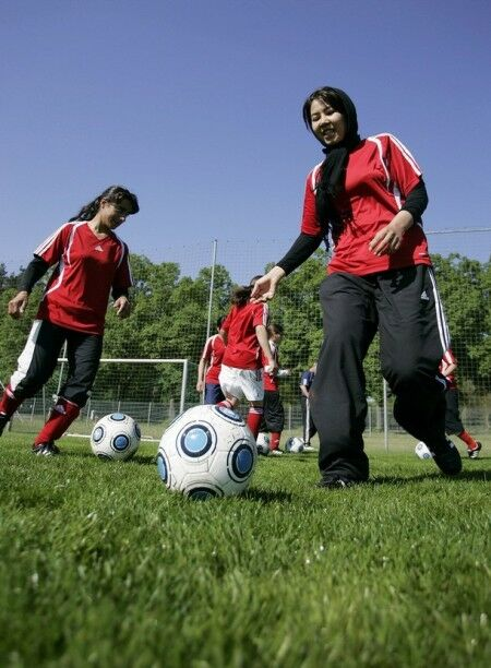عکسهایی از تیم ملی فوتبال زنان افغانستان