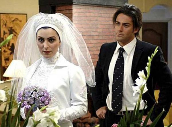 عکسهای بازیگران زن ایرانی در لباس عروسی