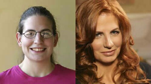 عکسهای بسیار دیدنی از زنان زشتی که با آرایش زیبا شدند