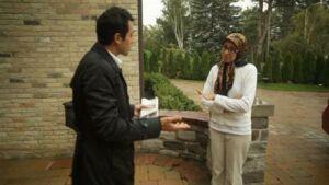 دختر و پسر رییس سابق و فراری بانک ملی در کانادا