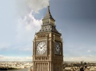 برج ساعت لندن کج شد + عکس