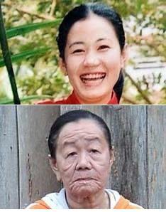 عکس زن ۲۳ ساله که 50 سال پیر شد
