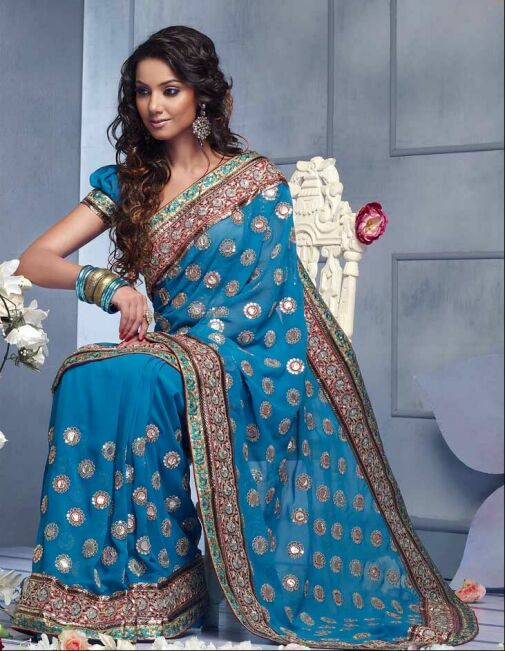 عکس های جدید و بسیار زیبا مدل لباس های هندی زنانه و دخترانه شیک سال