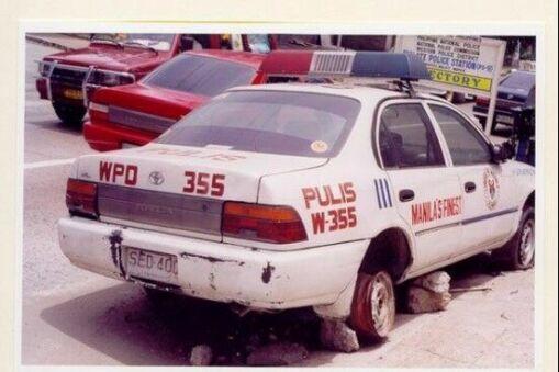عکس ماشین پلیس