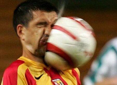 عکسهای خنده دار و دیدنی از سوتی های ورزشی