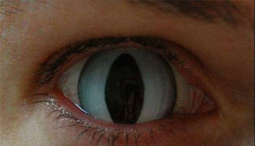 عکس های از لنز های بسیار عجیب شیطان پرستان