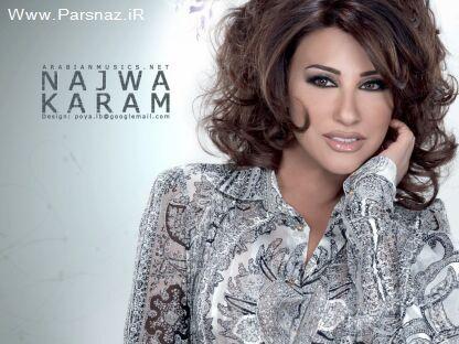 محبوب ترین خواننده زن عربی اتنخاب شد + عکس