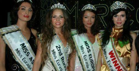 عکس های زیباترین دختر منتخب اوراسیا اروپا - آسیا