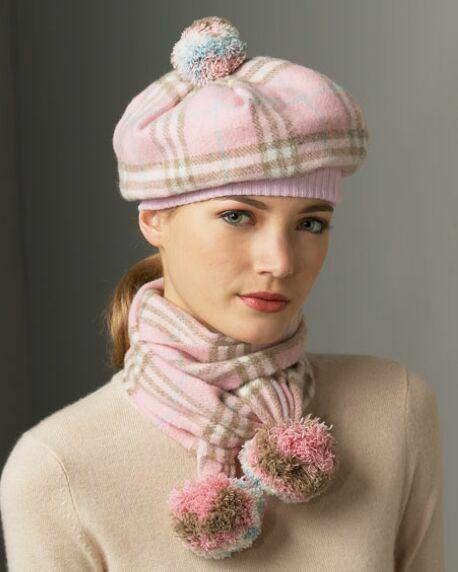مدل های کلاه و شال گردن های پاییزی
