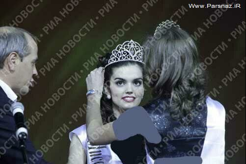 مراسم انتخاب زیباترین دختر دانشجو + عکس