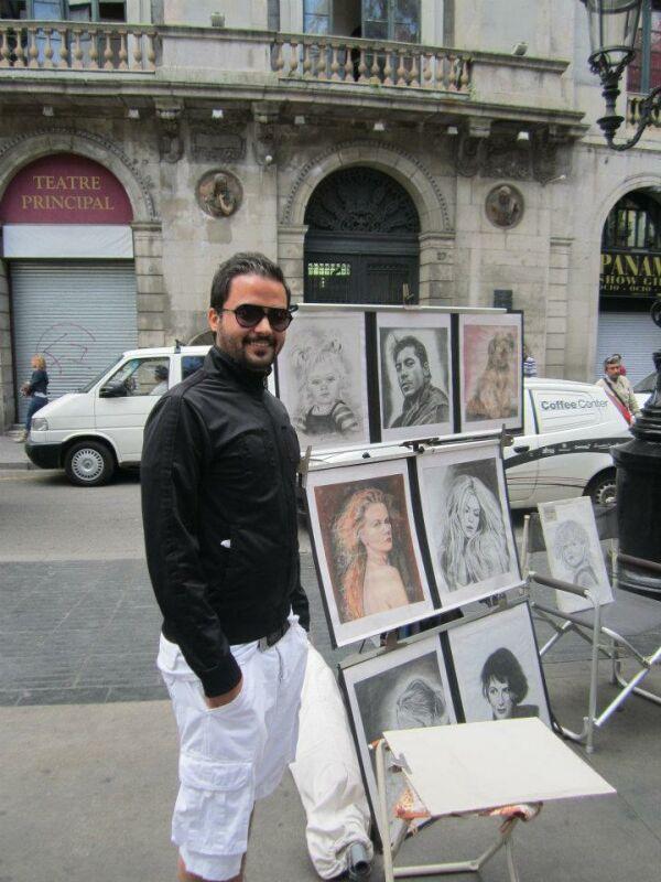 عکسهای مهدی سلوکی در کشور فرانسه