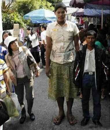 عکس های دیدنی از بلند قدترین زنان جهان