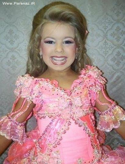 عکس های دیدنی مسابقه ملكه زیبایی دختران زیر 10 سال