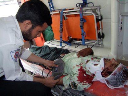 یک افسر ناجا در مشهد تا حد مرگ مورد ضرب و شتم قرار گرفت + (عکس)