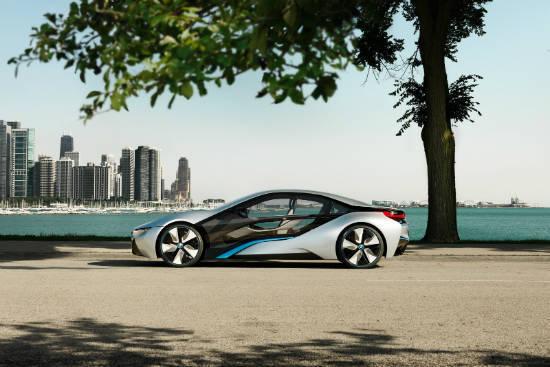 عکسهای ماشین جدید  BMW i8 Sports Concept
