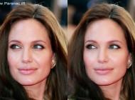 عکس های زنان زیبا و معروف قبل و بعد از فتوشاپ