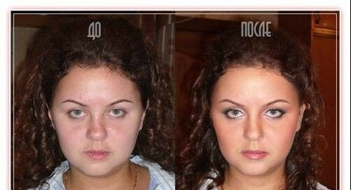 عكس های عروس های روسی قبل و بعد از آرایش