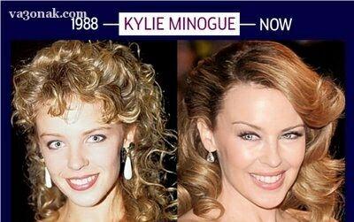 www.parsnaz.ir - عکس های دیدنی از تغییر چهره سه زن معروف جهان