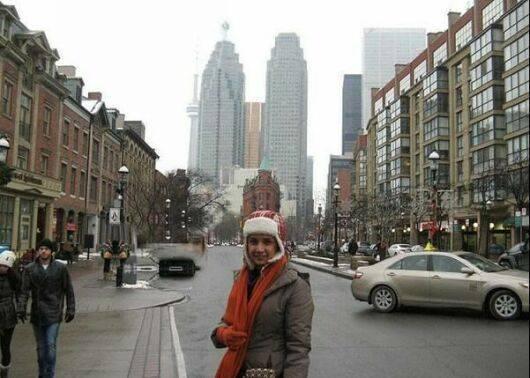 www.parsnaz.ir - عکس های جدید شبنم قلی خانی در خارج از کشور