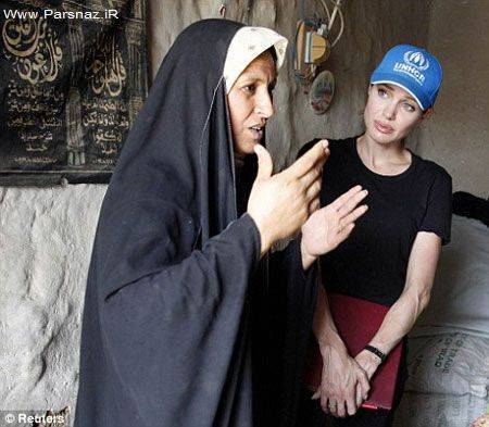 عکس های جدید انجلینا جولی در عراق