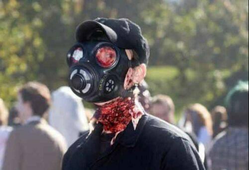 عکس های دیدنی از گریم های ترسناک فیلم (16+)