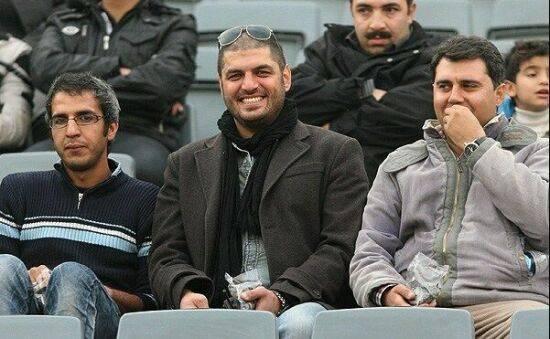 سام درخشانی در ورزشگاه آزادی + عکس