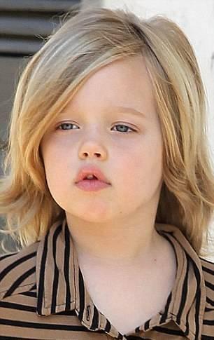 شباهت براد پیت با دختر 5 سالهاش + تصاویر