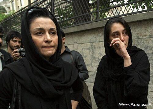 www.parsnaz.ir - گریه های هدیه تهرانی در مراسم عزاداری!! + عکس