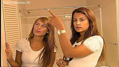 دوربین مخفی در حمام و اتاق خواب دو دختر دانشجو + عکس