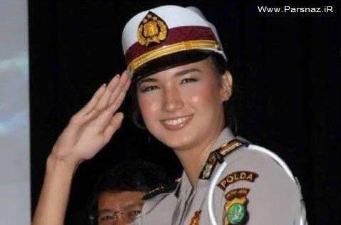 زیباترین زنان پلیس کشور های مختلف جهان + عکس