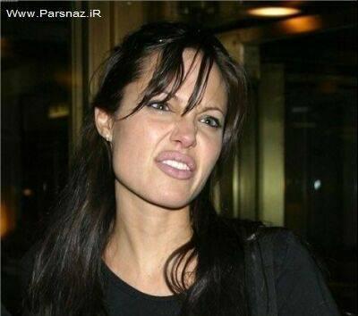 عکس های دیدنی از ژست های غیر رسمی آنجلینا جولی