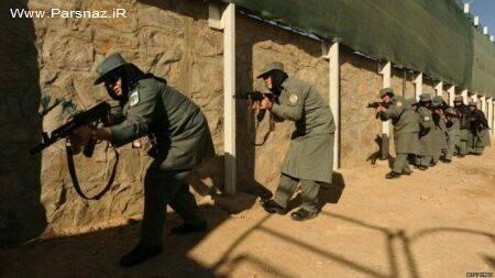 عکس هایی از حرکات آموزشی به زنان پلیس در افغانستان