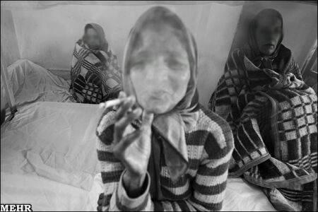 عکس هایی از اردوگاه زنان بی خانمان در تهران