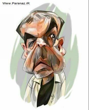 کاریکاتور های جدید از بازیگران معروف ایرانی