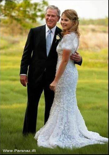 عکس   عکسهای مراسم عروسی دختر جرج بوش
