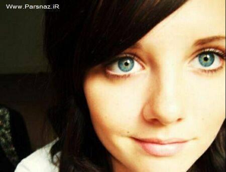 دخترانی جذاب با زیباترین چشم های جهان + عکس