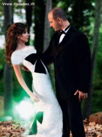 عکس های دیدنی از عروسی نانسی عجرم