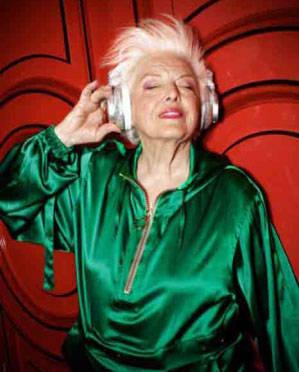 پیرترین زن دی جی در جهان + عکس